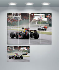 Racing F1 Car Giant Wall Art Poster Print