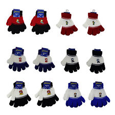 Children Winter Knitted Magic Gloves Wholesale Lot 12 Pairs