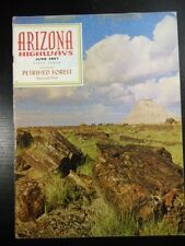 Arizona Highways Magazine 1967 june PETRIFIED FOREST NATIONAL PARK, LONG LOGS