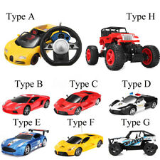 8 Type Wireless Remote Control RC Racing Car Truck Vehicle Roadster Kid Toy Gift