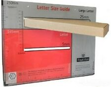 BROWN C4 C5 SIZE BOX LARGE LETTER STRONG CARDBOARD MAILING POSTAL PIP