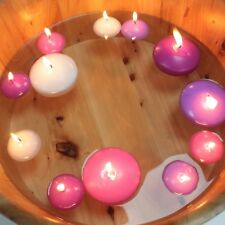 Floating Candles - 20 x Small or 6 x Large - Various Colours - Party Decorations