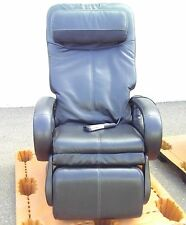 Black Human Touch HT-5040 WholeBody Massage Chair Stretching Recliner #0263