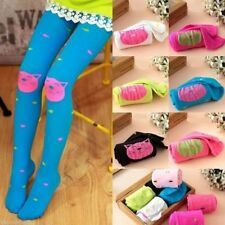 New High Quality girls tights Velvet candy colors Cat Fish Pantyhose for kids OE