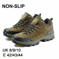 MENS BOOTS SHOES HIKING WALKING LACE UP CHUKKA WATERPROOF BOOTS SHOES