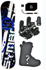 155cm Symbolic Mens Snowboard+Bindings+Boots+Stomp+Leash+burton dcal$650 Package