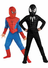 Spiderman Batman Superman Kid Boys Fancy Dress Halloween Costume Cosplay Outfits