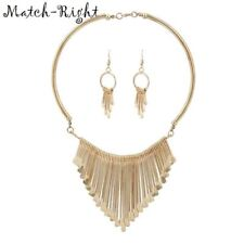 Women Necklace Alloy Statement Necklaces Pendants Tassel Jewelry Ethnic Necklace