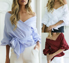 Women New Style V Neck Shirt Ladies Summer Fashion Tops Blouse Sexy Tops Clothes