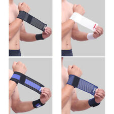 Elastic Compression Wrist Brace Support Bandage Sports Bracer Protection Fitness