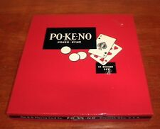 Vintage Po-Ke-No 12 Board Set by The U.S Playing Card Co.