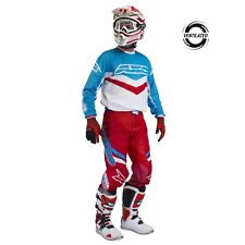 AXO Trans-Am Motocross BMX Pants and Jersey combo Red White Blue