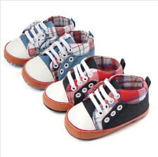 Baby Canvas Shoes First Walkers Infant Soft Bottom Sports Shoes Toddler Sneakers
