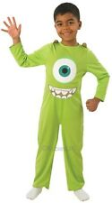 Boys Monsters Inc Mike Green Monster Halloween Book Fancy Dress Costume Outfit