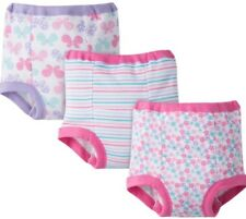 GERBER BABY GIRLS COTTON POTTY TRAINING PANTS - PINK - SIZE 3T - 3-PACK - NWT