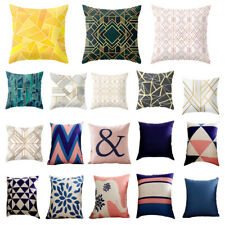 Fashion Geometric Square Sofa Car Throw Cushion Cover Pillow Case Pillowslip