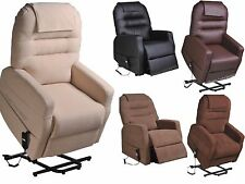 MOBILITY CHAIR ELECTRIC RISER RECLINER SINGLE - DUAL ARMCHAIR ELDERLY LIFT CHAIR