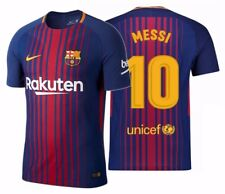 NIKE LIONEL MESSI FC BARCELONA AUTHENTIC VAPOR MATCH HOME JERSEY 2017/18.