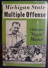 """""""MICHIGAN STATE-MULTIPLE OFFENSE"""" by CLARENCE """"BIGGIE"""" MUNN! 1953 HARDCOVER!"""