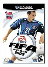 FIFA Soccer 2003  (Nintendo GameCube, 2002) Complete.  FREE Shipping