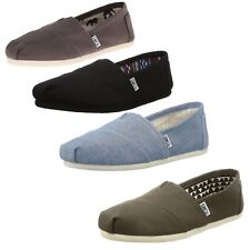 Authentic NEW TOMS Women Classic Slip-On Casual Flat Espadrille Summer Shoes