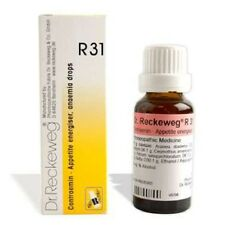 AYURVEDIC HERBAL DR. RECKEWEG R31 INCREASES APPETITE AND BLOOD SUPPLY DROP 22 ML