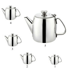 500ml-2.8L Stainless Steel Teapot Cold Water Juice Jug Coffee Pot w/ Handle