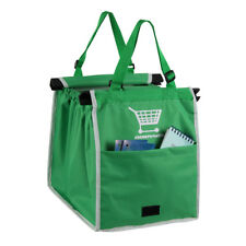 Grab Bag Clip-To-Cart Reusable Grocery Shopping Bags Grocery Eco Friendly Pack