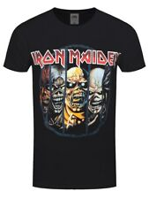 Iron Maiden Eddie Evolution Men's Black T-shirt