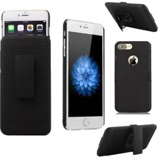 Hard Shockproof Holster Stand Case Cover With Belt Clip For iPhone 8 Plus 7 6S 5