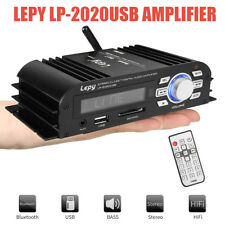 Lepy2020 Bluetooth USB Class-T Amplifier HiFi Stereo Audio Power Digital 2CH Amp