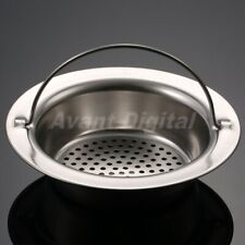 Stainless Steel Bathroom Sink Strainer Drainer Kitchen Filter Disposer Hand-held