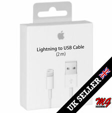 2M Genuine Apple IPhone Extra Long USB Lead Cable Lightning Charger for 7 6 5