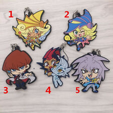 T505 Hot Anime Yu Gi Oh Duel Monsters Rubber Keychain Key Ring Rare straps