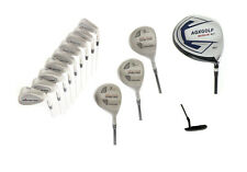 AGXGOLF MDD TOUR MENS GOLF SET w460 DRIVER +3, 5 & 7WOODS+3-9 IRONS+PW+SW+PUTTER