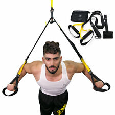 GYM Fitness Strength Training Workout Band Resistance Exercise Yoga Strap Belt