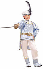BOYS KIDS CHILDRENS CHILDS DELUXE FANCY PRINCE CHARMING COSTUME OUTFIT AGE 3-14