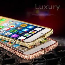 7 Luxury Bling Diamond Bumper Case For iphone 7 7 Plus Fashion Glitter Crystal R