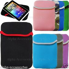"""Neoprene Pouch Sleeve Case Cover For Amazon Kindle Touch 4 e-Reader & Kobo 6"""""""