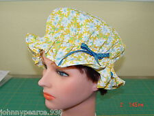 New Handmade Child Vintage Colonial Maid's Dust Cap / Mop Bonnet Period Costume