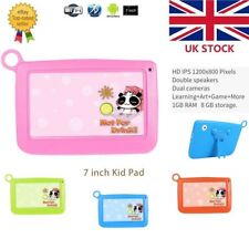 """7"""" Quad Core Tablet PC for Kids Google Android 4GB 512MB Dual Camera BG"""