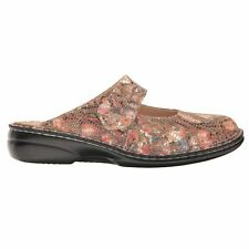 Finn Comfort Stanford 2552 Multi Womens Mary Jane Slip on Leather Shoes Mules