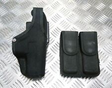 Genuine Bianchi MoD Military / Police Thumbsnap Holster & Ammo Pouch HPS01