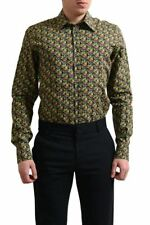 "Dolce & Gabbana ""Gold"" Men's Multi-Color Button Down Dress Shirt US 16 16.5 17"