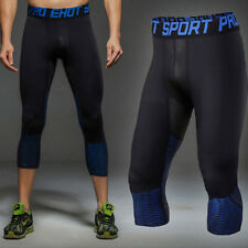 Mens Athletic Apparel Skin Tights Compression Base Under Layer Workout Shorts