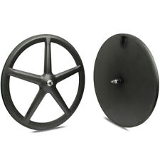700C Carbon Disk Wheel Tri Spoke Wheel 4 spoke wheelset five spoke wheels 3spoke