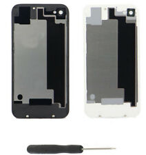 OEM For iPhone 4 4S Battery Cover Rear Glass Back Door Replacement +Tool