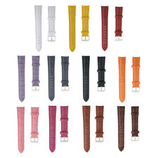 PU Leather Watch Strap Band Wristwatch Strap Replacement for Men Women 18mm