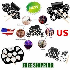 Roll up Portable 9 Pad OTB 9 Pad Musical Instrument Electronic Drum Kit Kids OT