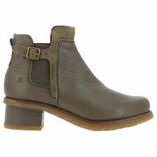 El Naturalista N5104 Kentia Plume Land Womens Leather Chelsea Ankle Boots